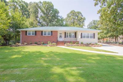 Anderson County Single Family Home For Sale: 3018 Sunset Forest Road