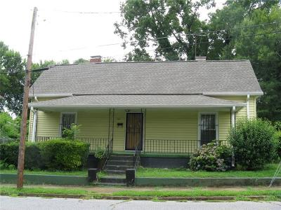 Anderson Single Family Home For Sale: 302 Broyles Street