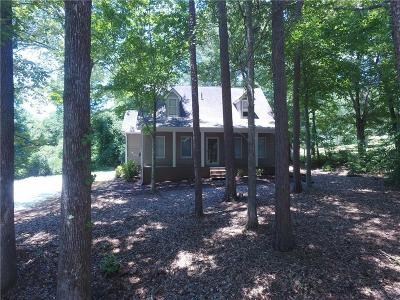 Oconee County Single Family Home Contract-Take Back-Ups: 140 Rolling Drive