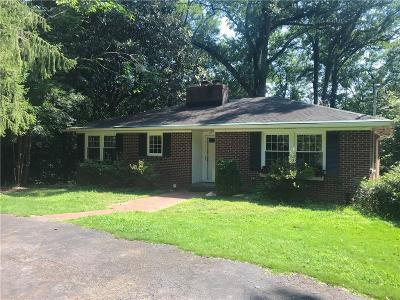 Clemson Single Family Home For Sale: 325 Pendleton Road