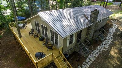 Anderson County, Oconee County, Pickens County Single Family Home For Sale: 137 Whitaker Road