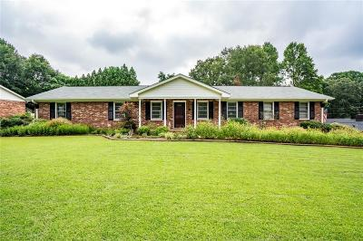 Easley Single Family Home For Sale: 311 Longview Terrace
