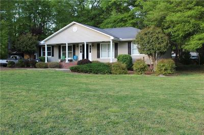 Piedmont Single Family Home For Sale: 1598 Shiloh Church Road