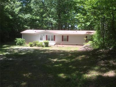 Anderson County, Oconee County, Pickens County Mobile Home For Sale: 167 Welters Cove Road