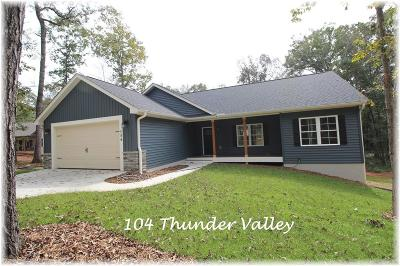 Seneca, Seneca/west Union Single Family Home For Sale: 104 Thunder Valley Road