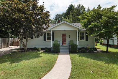 Easley SC Single Family Home For Sale: $115,000
