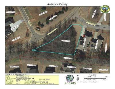 Brookstone Mead, Brookstone Meadows Residential Lots & Land For Sale: 100 Courtyard Drive