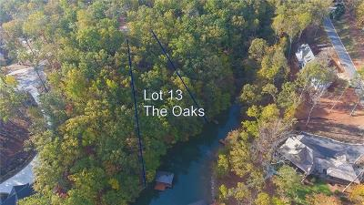 Residential Lots & Land For Sale: Lot 13 The Oaks At Lake Keowee