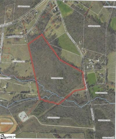 Simpsonville Residential Lots & Land For Sale: 00 Goodwin Road