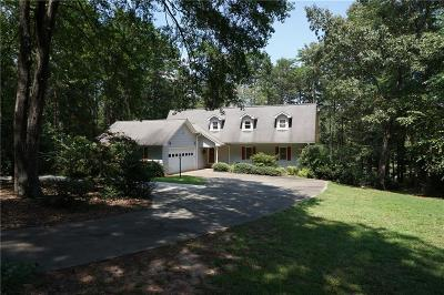 Single Family Home For Sale: 587 Currahee Ridge Road
