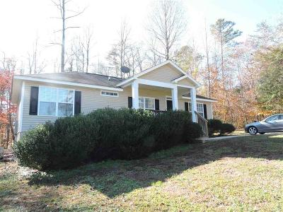 Westminster SC Single Family Home For Sale: $169,900