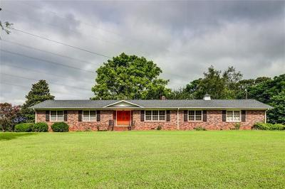 Pendleton Single Family Home For Sale: 2207 Refuge Road