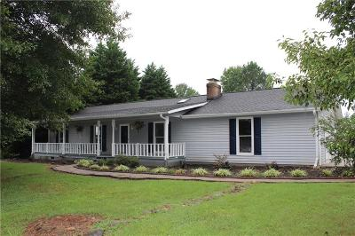 Easley Single Family Home Contract-Take Back-Ups: 1009 Antioch Road