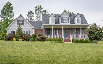 Easley Single Family Home For Sale: 192 Upper Lake Drive