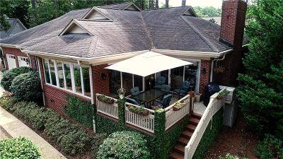 Oconee County Single Family Home Contract-Take Back-Ups: 408 S Way Court