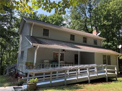 Easley Single Family Home For Sale: 1832 Mt. Tabor Church Road