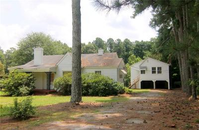Anderson SC Single Family Home For Sale: $99,000