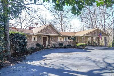 Anderson County, Oconee County, Pickens County Single Family Home For Sale: 628 Seminole Point Road