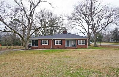 Abbeville County Single Family Home For Sale: 7 College Street