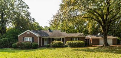 Easley Single Family Home For Sale: 2120 Saluda Dam Road