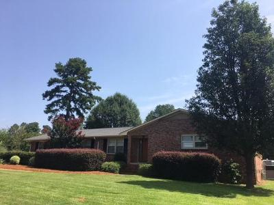 Anderson Single Family Home For Sale: 103 Pinehurst Drive