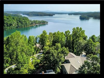 Keowee Key Single Family Home Contract-Take Back-Ups: 4 Gybe Ho Court