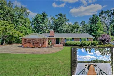 Anderson County, Oconee County, Pickens County Single Family Home For Sale: 208 Nottingham Way