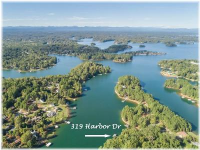 Oconee County, Pickens County Single Family Home Contract-Take Back-Ups: 319 Harbor Drive