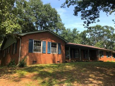 Liberty Single Family Home For Sale: 156 Stewart Gin Road