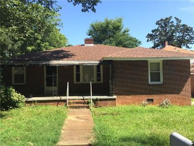 Single Family Home Contract-Take Back-Ups: 707 Cleveland Avenue