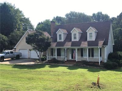 Pickens County Single Family Home For Sale: 909 Anderson Highway
