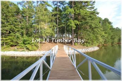 Residential Lots & Land Contract-Take Back-Ups: Lot 18 Timber Bay