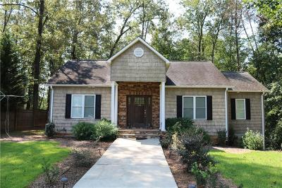 Oconee County Single Family Home For Sale: 103 Hickory Trail