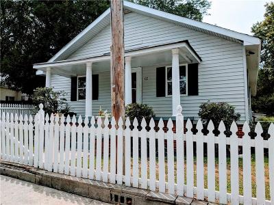 Easley Single Family Home For Sale: 102 Bannister Street
