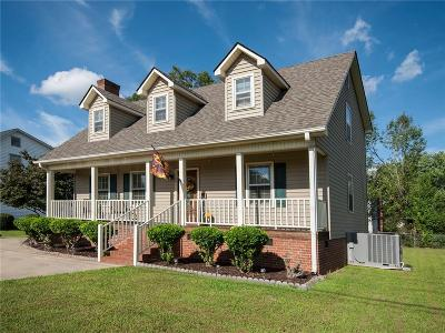 Easley Single Family Home For Sale: 1705 Crestview Road