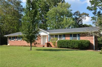 Clemson Single Family Home Contract-Take Back-Ups: 92 Cardinal Drive