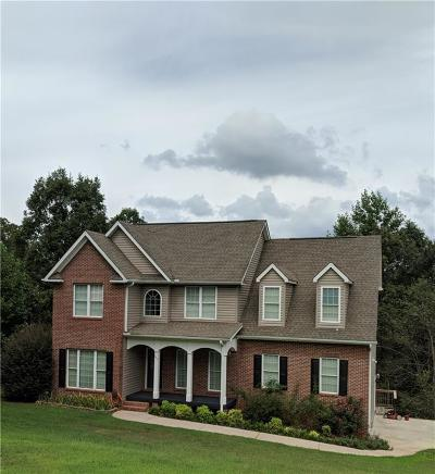 Oconee County Single Family Home For Sale: 237 Stone Pond Way