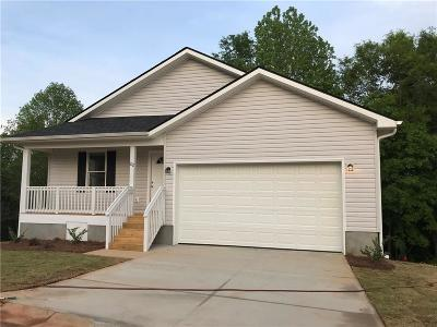 Easley Single Family Home For Sale: 212 Hazel Drive