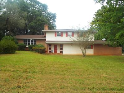 Clemson Single Family Home Contract-Take Back-Ups: 96 Cardinal Drive