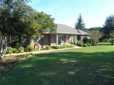 Pendleton Single Family Home For Sale: 1215 Levis Smith Road