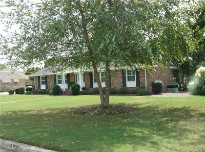 Anderson Single Family Home For Sale: 1210 Hanover Road