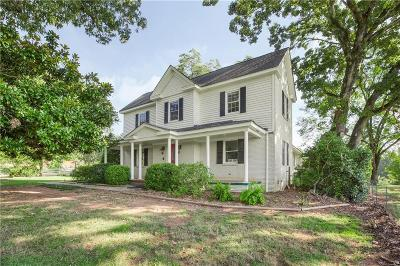 Pendleton Single Family Home For Sale: 109 Timms Mill Road