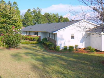Anderson Single Family Home For Sale: 1101 Shackleburg Road