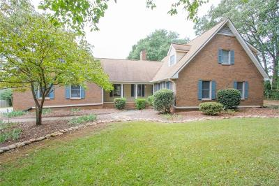 Anderson Single Family Home For Sale: 110 Rustic Lane