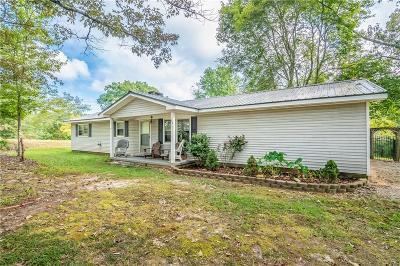Oconee County Single Family Home For Sale: 186 L Pelfrey Road