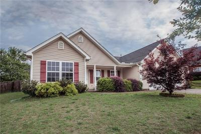 Piedmont Single Family Home For Sale: 11 Cane Hill Drive