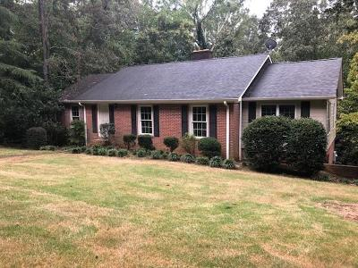 Clemson Single Family Home For Sale: 102 Cherokee Road