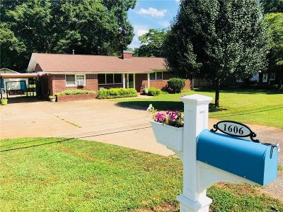 Anderson SC Single Family Home For Sale: $142,700