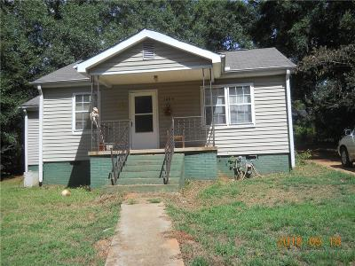Single Family Home For Sale: 1404 West Whitner Street
