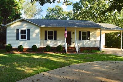 Anderson Single Family Home For Sale: 2406 Old Williamston Road